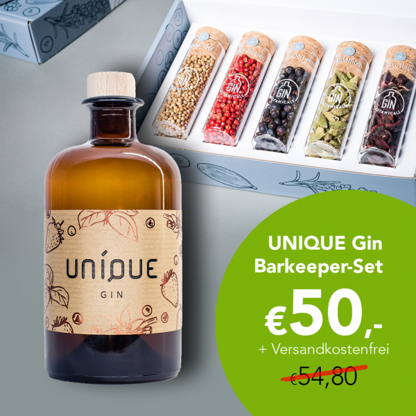 UNIQUE Gin Barkeeper Set